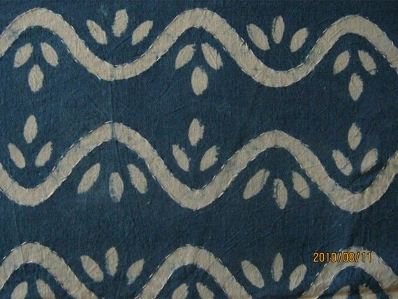 Hand block print bedcover queen full