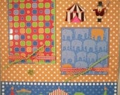 Scrapbook Pages Premade - 12x12 Layout - It's A Circus In Here
