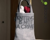 "SUCCAPLOKKI -  14"" Knitting Bag"