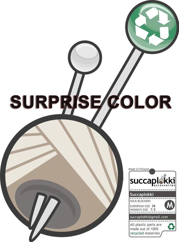 Surprise color-SIZE-M -Succaplokki-Sock Blockers
