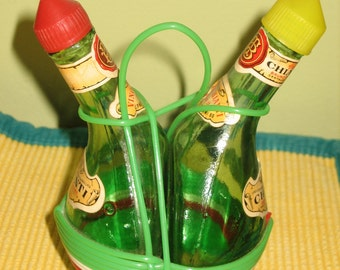Tackylicious Oil and Vinegar Dispenser Set