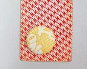 SALE faux lace magnet