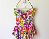 vintage SWEETHEART swimsuit. M