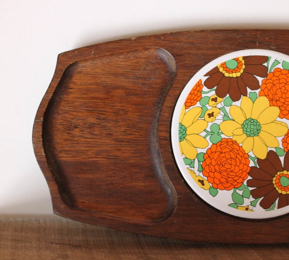 1960's vintage cheese board.