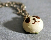 Panda Bun Pendant Necklace
