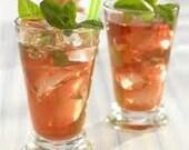 Ambrosia Iced Tea, Iced Tea Blends, Tea Blends, Green Tea, Peach Tea, Hibiscus Tea, Apricot Tea, Black Currant Tea,  Minty Licorice Tea