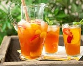 Sea Breeze Iced Tea, Tea Blends, Iced Tea, Green Tea, Peach Tea, Hibiscus Tea, Apricot Tea, Black Currant Tea, Minty Licorice Tea
