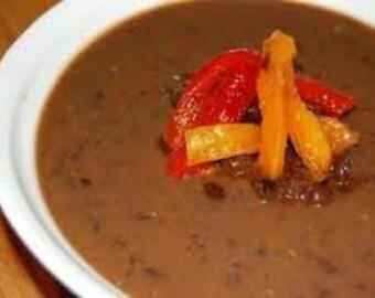 Panera Black Bean Soup Mix, Seasoning Mix, Soup mix, Bean Soup mix, Slow Cooker mixes, Salt Free, Copycat