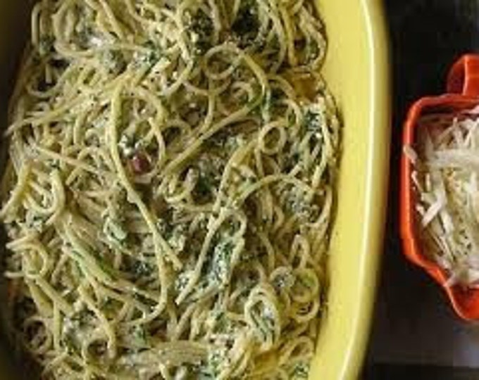 Pasta Blend-Card-A Perfect Blend of Basil, Oregano, Parsley, Chives, and Garlic- Salt Free