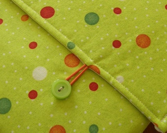 MacBook / MB Pro / MB Air Laptop Sleeve in Planetary Circle Fabric