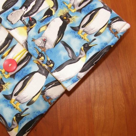 MacBook Sleeve/Case in Penguin Fabric