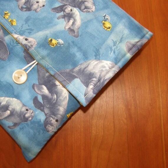Manatee Fabric MacBook Laptop Sleeve / Case
