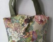 floral elegant shoulder bag