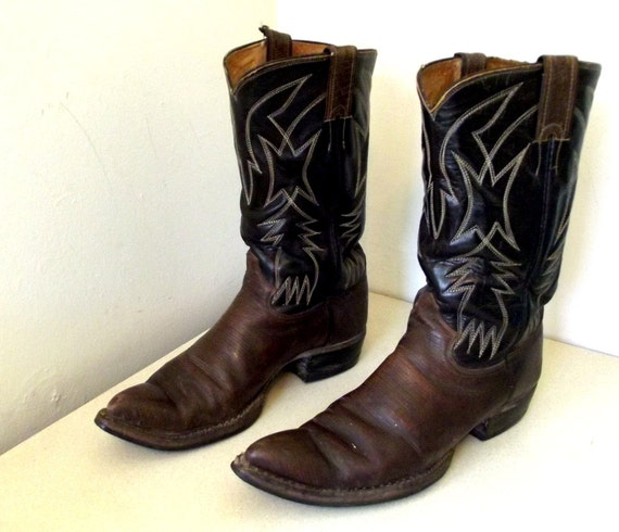 vintage justin brand cowboy boots size 10 b or size 11