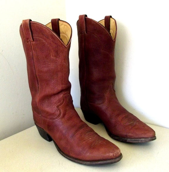 Vintage Justin brand cowboy boots