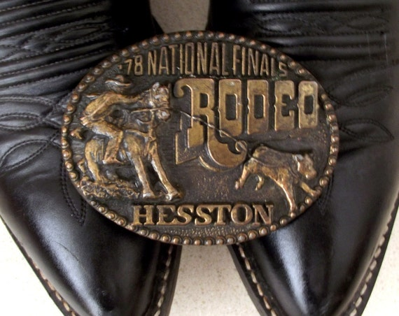 1978 Hesston National Finals Rodeo featuring a Calf Roper