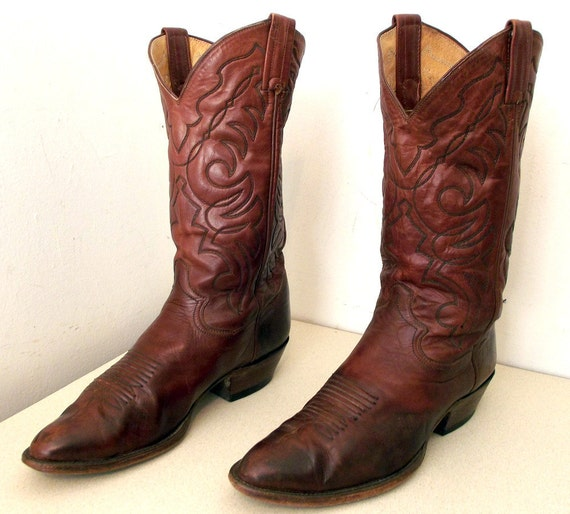Nice Vintage Panhandle Slim Cowboy boots size 8 D or cowgirl size 9.5