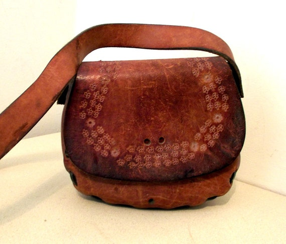 Vintage Small Leather Purse  --- ready for customizing