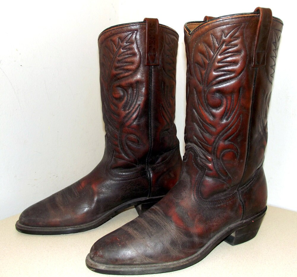 pecos wing shoe cowboy boots great authentic western