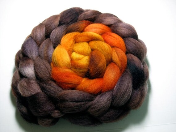 Polwarth Combed Top - 5oz - Travertine Terrace 1