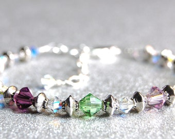 Mother's Blessings - Birthstone Bracelet - Style 4