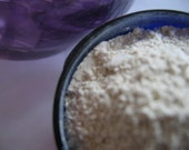 Detox Facial Mask with Moroccan Clay, MSM, Vitamin C and Walnut Shell Powder - Good for All Skins, all Natural, Vegan