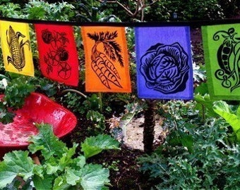 Vegetable Flags
