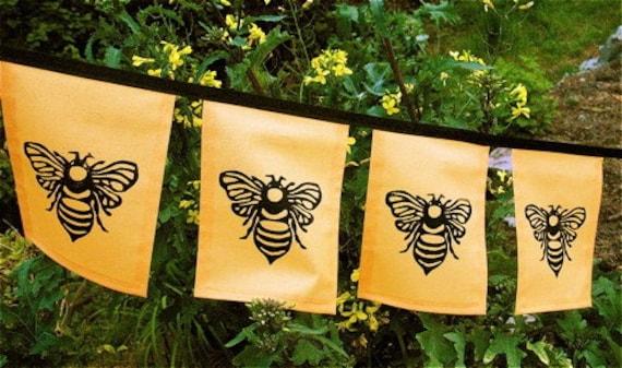 Honeybee flags