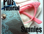 Sunnies Glasses Case - PDF Tutorial