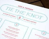 Tie the Knot Wedding Genealogy/Seating Chart