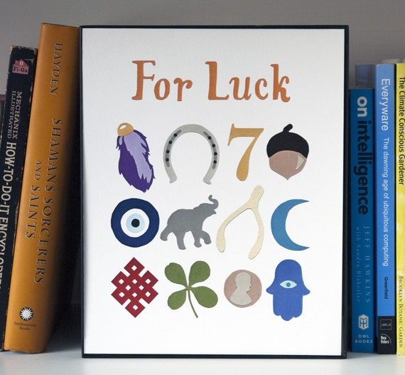 For Luck Print