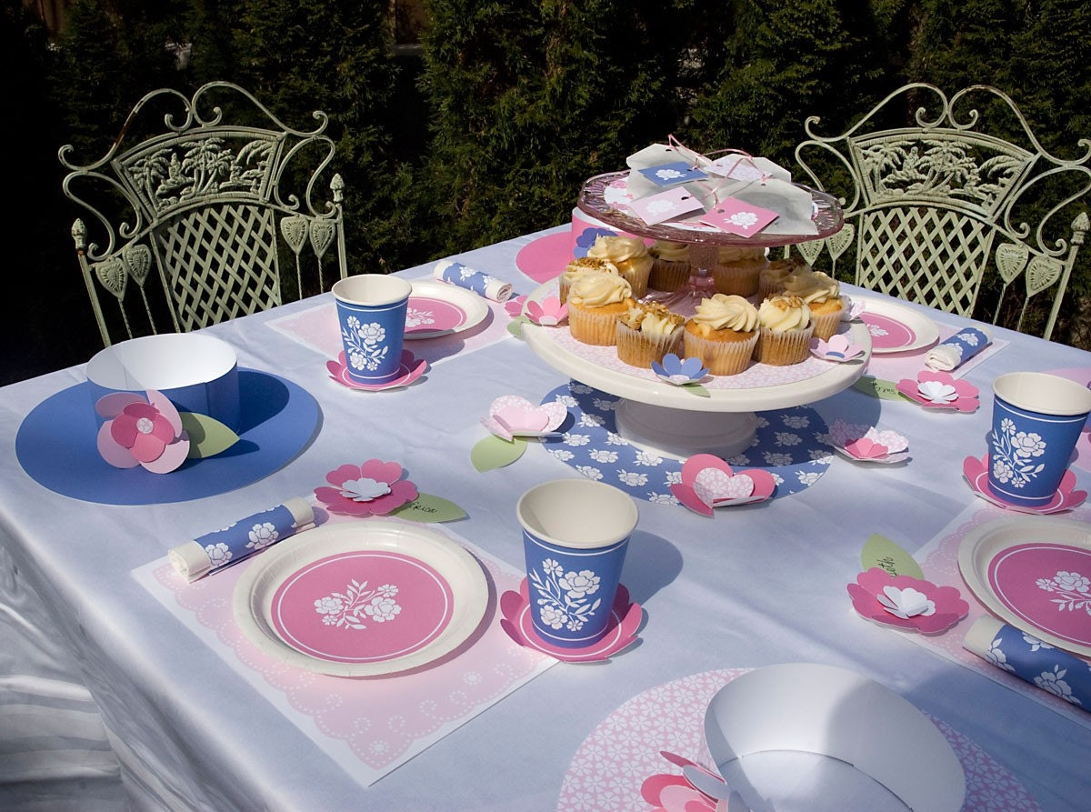 PRINTABLE Girls Tea Party