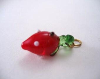 Vintage Strawberry Charm