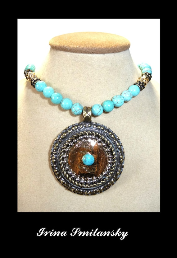 items similar to new jewelry necklace turquoise shop etsy