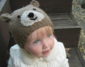 The Hat Menagerie BEARS knitting pattern for worsted weight yarn - PDF