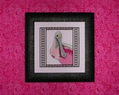 Roseate Spoonbill Cross Stitch Chart by RK Portfolio
