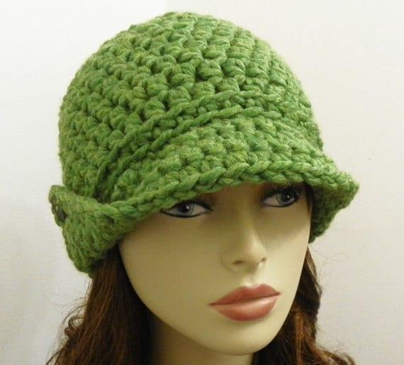 Beanie Hat Crochet Pattern With Brims Pdf Crochet Hat Pattern