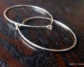 Large Gold Hoops, Gold Filled Hoops, Modern Earrings, Gold Earrings, Earrings Gold, 14c GoldFilled