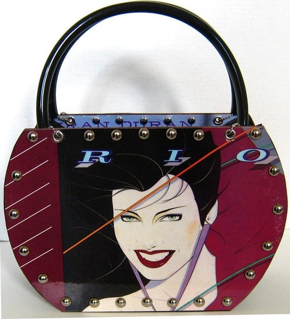 Duran Duran Rio Record Album Purse