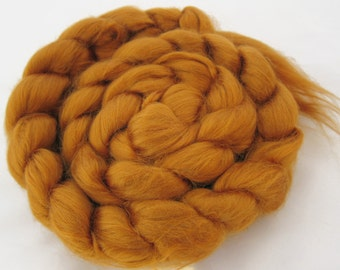 Bamboo Top, spinning fiber, gold, rayon, Ashland Bay, 4.0 oz.