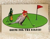ScooterWare Golf Magnet (Going For The Birdie)