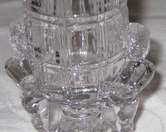 SALE :)  EAPG VIntage McKee Glass Peek-a-boo Cherubs Toothpick Holder circa 1904 was 29.99 now 20.99