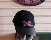 Harley Davidson Wool Cap Genuine Leather Bill Genuine Harley H-D Embroidery Made in USA