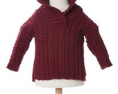 THE ALEXANDER: Hand Knit Hoodie Sweater