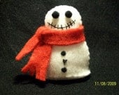ALL RESERVED - Skelly Snow Man - RESERVED for SewFunDollClothes