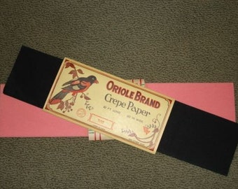 Vintage Crepe Paper...Choose your color