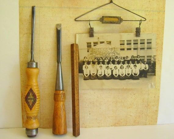 Reserved for Spence Wood Chisel Heinrich Bracht