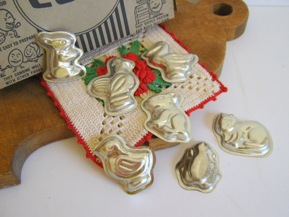Vintage Pastry Molds, Farm Animals, Cookie Recipe, Candy Molds, Farmhouse, Easter