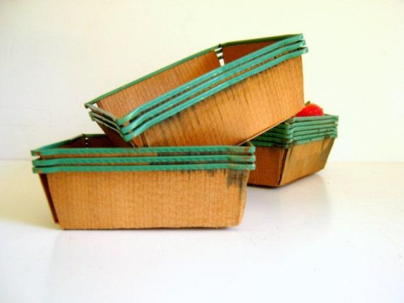 Vintage Berry Baskets