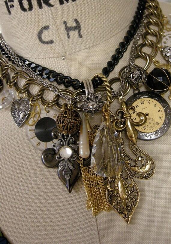 Dreams of Paris Charm Necklace